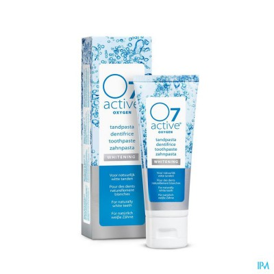 O7 ACTIVE TANDPASTA WHITENING 75ML O760