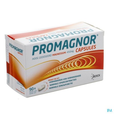 PROMAGNOR CAPS 90X450MG