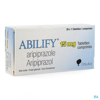 ABILIFY 15 MG PI PHARMA COMP 28 X 15MG PIP