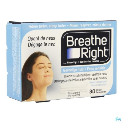 BREATHE RIGHT CLEAR REGULAR 30