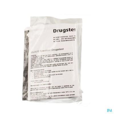 DRUGTEST SPEEKSEL 6 DRUGS(COC/AMPH/CANNAB/OPIAT/XT