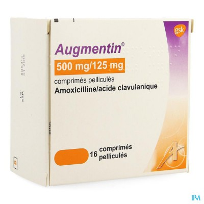 Augmentin Comp 16 X 500mg