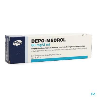 DEPO-MEDROL SER INJ 1 X 80 MG/2 ML