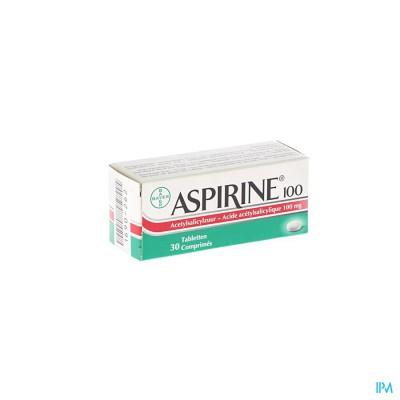 Aspirine 100mg Comp 30