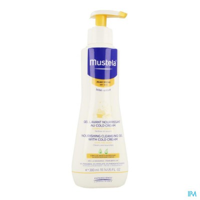 MUSTELA PS WASGEL VOEDEND COLD CREAM 300ML