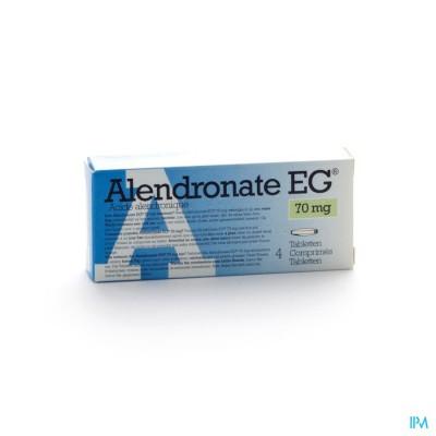 Alendronate Eg 70mg Comp 4 X 70mg