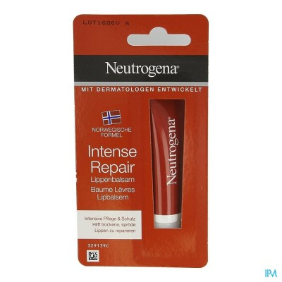 NEUTROGENA LIPBALSEM INTENS HERSTELLEND TUBE 15ML