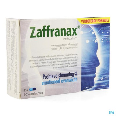 ZAFFRANAX CAPS 45 NF