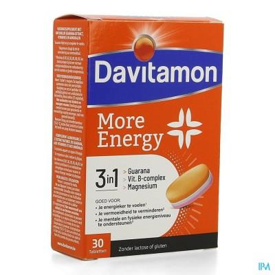 DAVITAMON MORE ENERGY 3-IN-1 COMP30