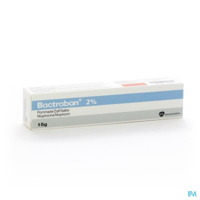 Bactroban Pomm Derm 2% Tube 15g