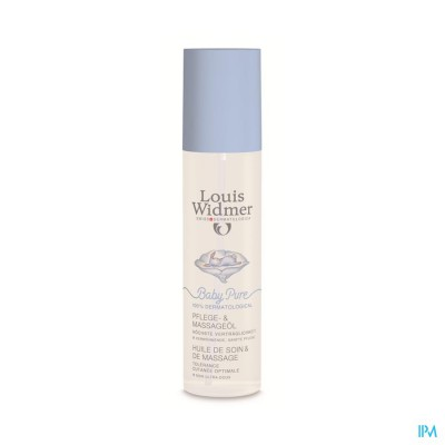 WIDMER BABY PURE VERZORGING + MASSAGEOLIE FL 150ML