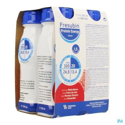 FRESUBIN PROTEIN ENERGY DRINK BOSAARDBEI FL4X200ML