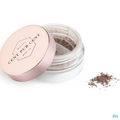 CENT PUR CENT LOSSE MINERALE SHADOW AUBERGINE 2G