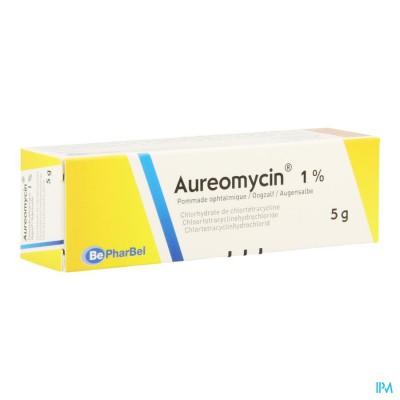Aureomycine Ung Opht 1 X 5g 1%