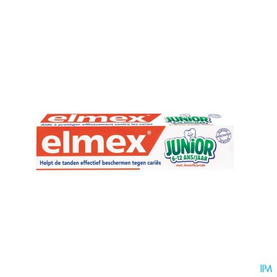 ELMEX JUNIOR TANDPASTA 6-12JAAR 75ML