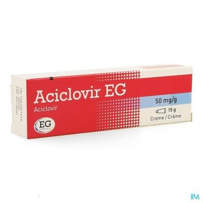 ACICLOVIR EG CREME 15 GR