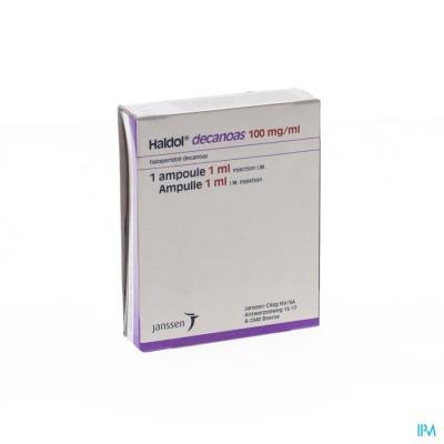 Haldol Decanoas Amp 1 X 1ml 100mg/ml