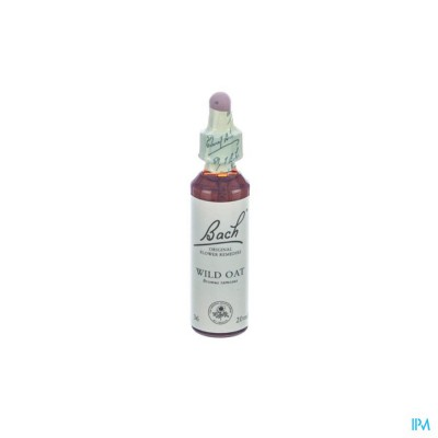 BACH FLOWER REMEDIE 36 WILD OAT 20ML
