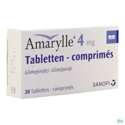 Amarylle Tabl 30 X 4mg