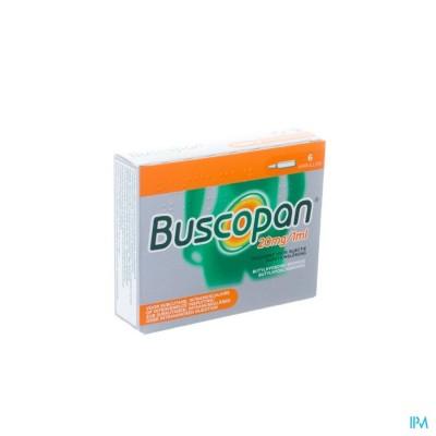 BUSCOPAN AMP 6 X 20 MG/1 ML