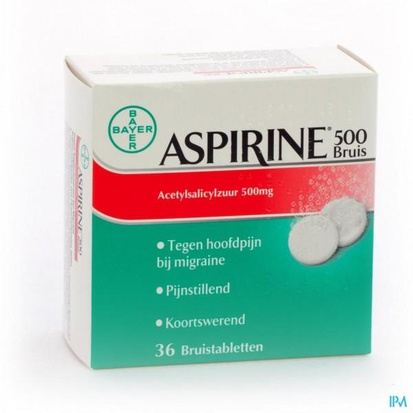ASPIRINE 500 MG COMP EFF 36