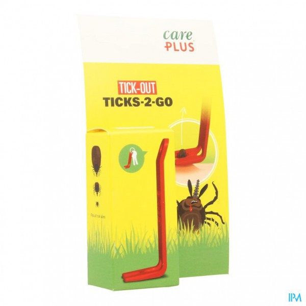 CARE PLUS TICK-OUT TICKS 2 GO