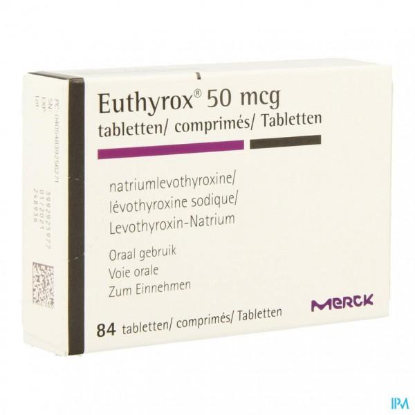 Euthyrox Comp 84 X 0,050mg
